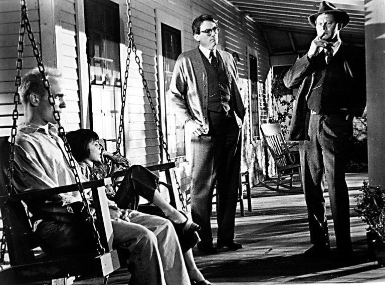 Matar a un ruiseñor Atticus el sheriff la niña y el vecino misterioso