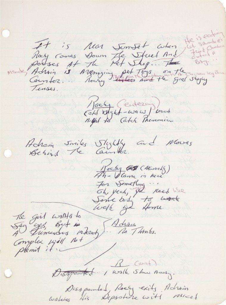 escribir-guiones-a-mano-rocky-759x1024 Por qué deberías escribir los guiones a mano