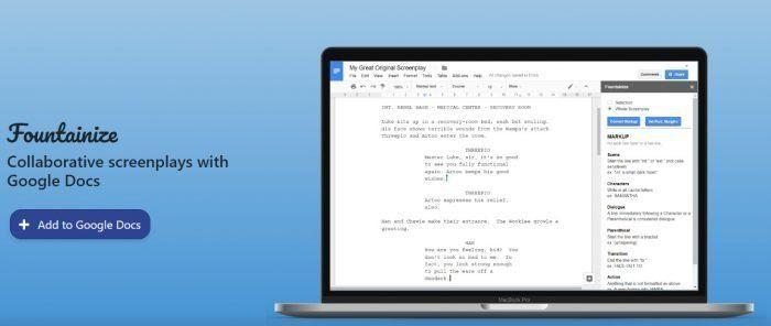 Plantillas de guion para Word y LibreOffice