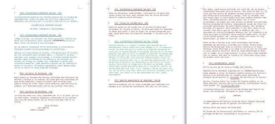 Correccion-de-guion-en-progreso Escribir un guion más rápido y con menos agobio