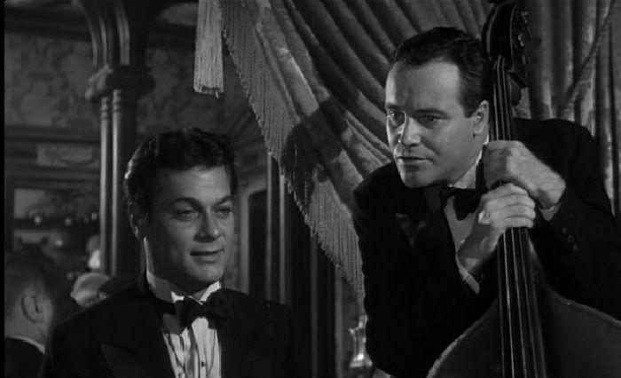 Tony Curtis y Jack Lemmon en Con faldas y a lo loco.
