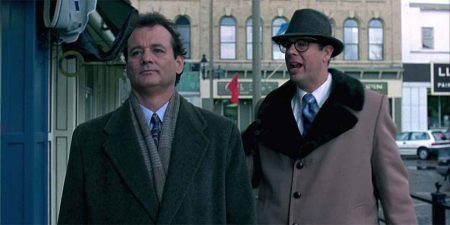 Atrapado en el tiempo - Bill Murray y Stephen Tobolowsky