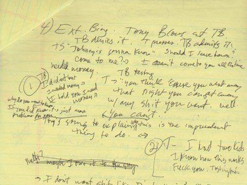 escribir-guiones-a-mano-borrado-de-Los-Soprano-01-edited Cómo se escribe un guion de cine o serie